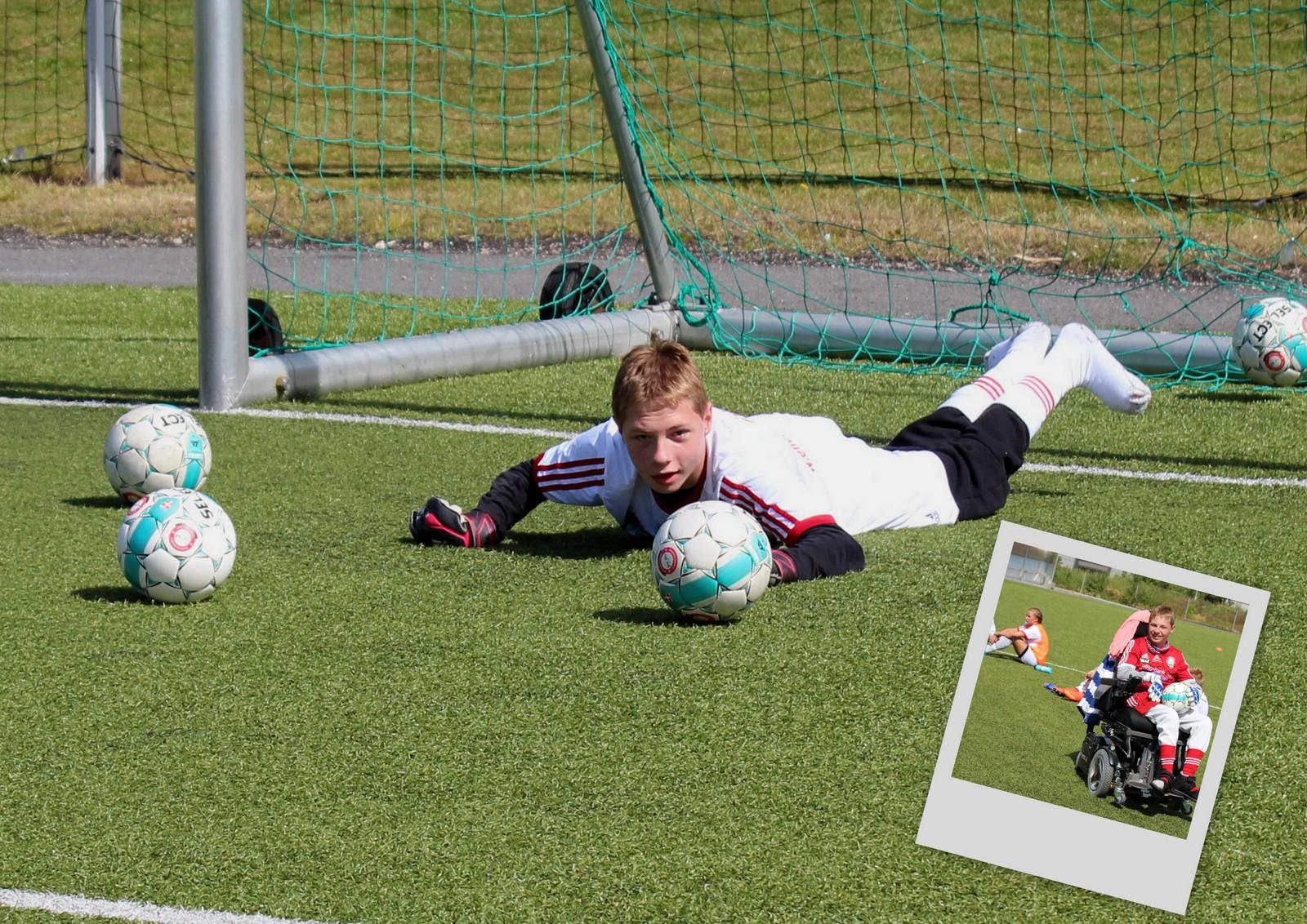 Dagfinn Enerly Fotballcamp 2014